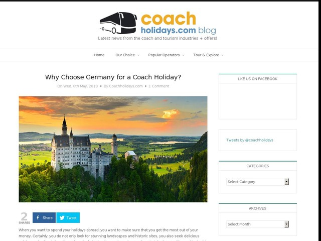 Why Choose Germany for a Coach Holiday?
