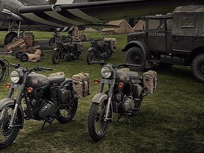 Royal Enfield Flying Flea World War II Motorcycle Revived as Classic 500 Pegasus