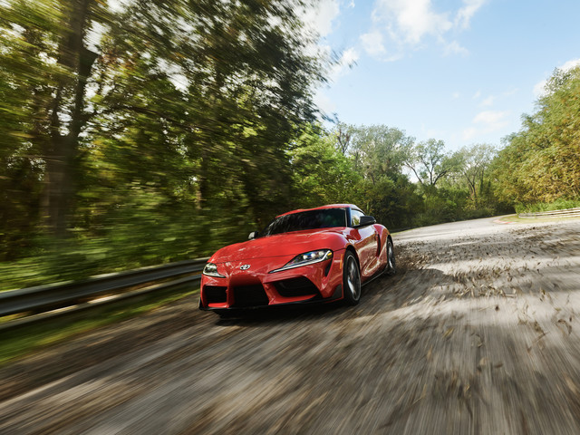 VIDEO: Listen to the Toyota Supra with an Akrapovic Exhaust