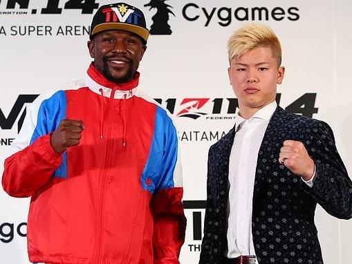 Floyd Mayweather WILL fight Tenshin Nasukawa on New Year's Eve