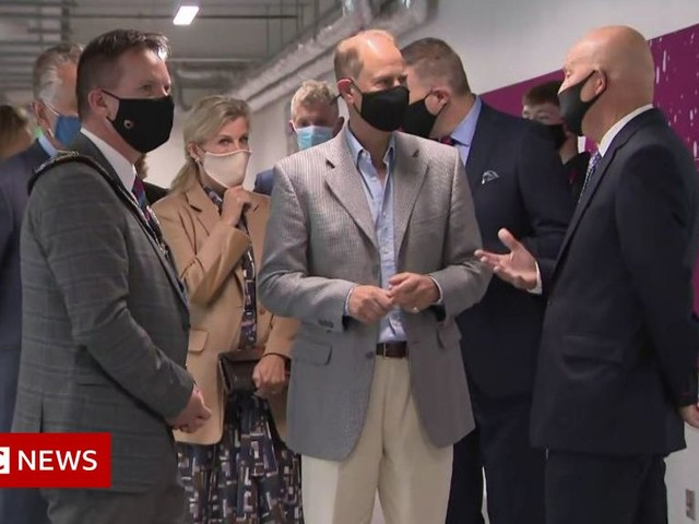 Earl and Countess of Wessex visit Northern Ireland