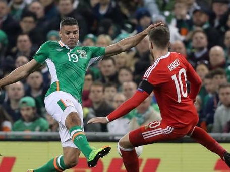 Striker Jonathan Walters ruled out of Republic of Ireland's play-off games
