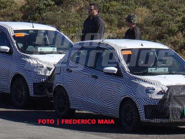 Ford Figo & Aspire Facelift Testing Starts, Launch In 2018