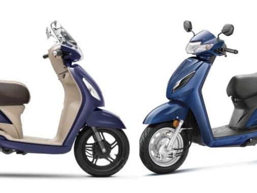 Specs Comparison: Honda Activa 6G vs TVS Jupiter BS6
