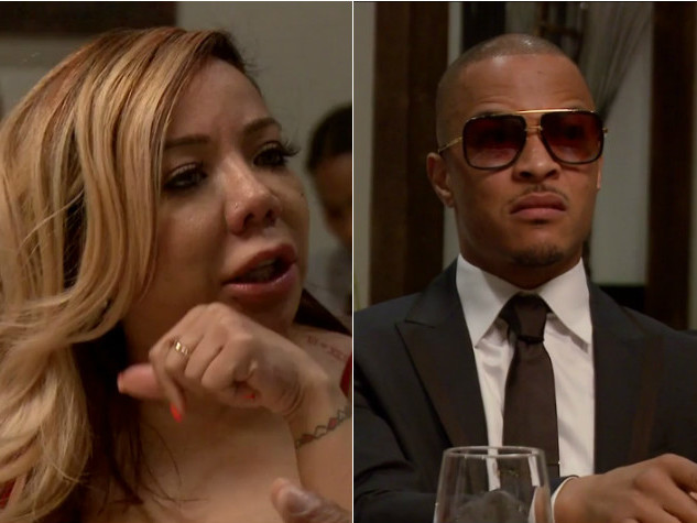 T.I. Struggling to Be Faithful to Tiny Harris After Reconciliation — Report