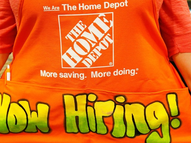 Home Depot is embarking on a massive hiring spree as retail's war for talent rages on (HD)