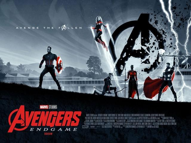 Avengers: Endgame new Odeon art posters are still avenging