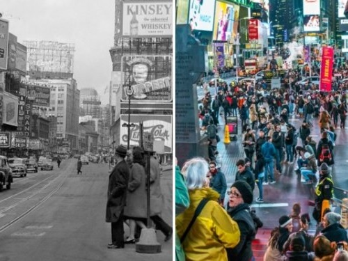 THEN AND NOW: How famous New York City landmarks have changed over the years
