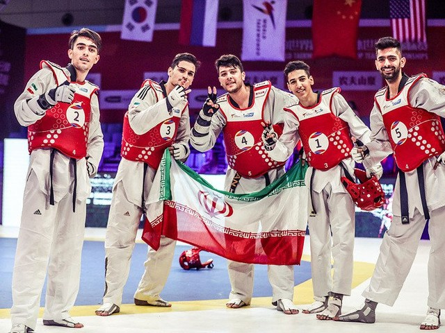 Iran win men's team title at World Taekwondo World Cup Team Championships