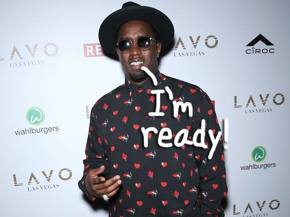 Diddy Says He's Down For Kids With Girlfriend Cassie: 'I Love Children, I'm Trying To Get Ten'