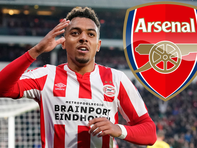 Arsenal target £52m-rated Eredivisie top scorer Mallen but face transfer fight with Barcelona