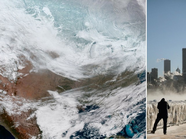 The polar vortex ravaging the US with extreme cold has killed at least 11 people