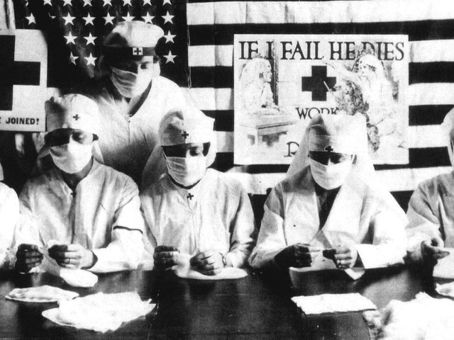 Spanish flu: how not to deal with a pandemic