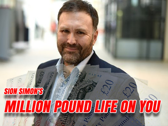 Siôn Simon's £1 Million Life on the Taxpayer