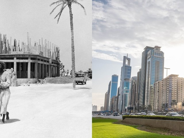 Dramatic photos show how radically Dubai has changed in 50 years