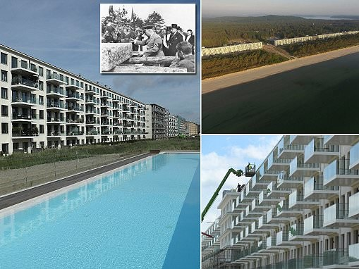Pictures show how Nazi resort became luxury apartments