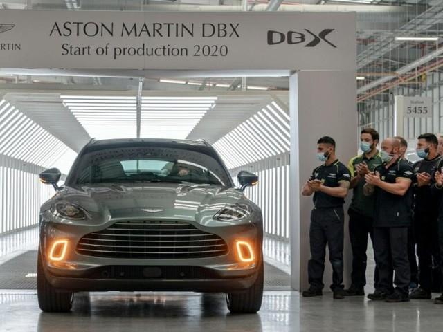 Aston Martin's 'make or break' SUV finally rolls off Welsh production line