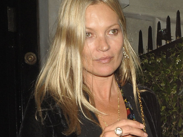 Kate Moss Looks Chic Stepping Out Of Annabels Private Members Club