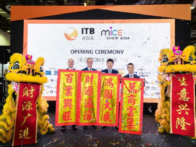 ITB Asia welcomes record crowds as show gets underway in Singapore