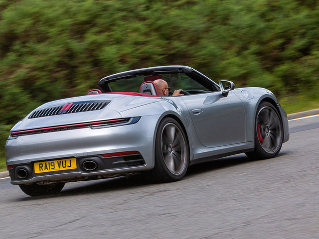 Porsche 911 Carrera 4S Cabriolet 2019 UK review