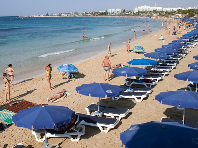 On Cyprus, Home To UK's Middle East Military Hub, Tourists Fear Syria Fallout