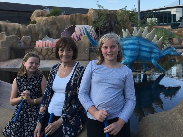 Fun for all Ages at Mighty Claws Adventure Golf, Bournemouth