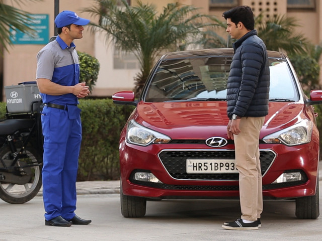 Hyundai door-to-door service launched