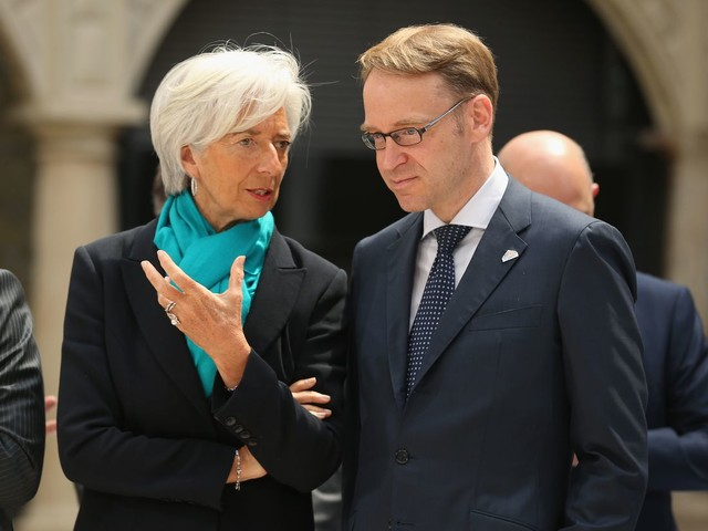 Weidmann Hits Back After Lagarde Criticizes German Surplus - Bloomberg