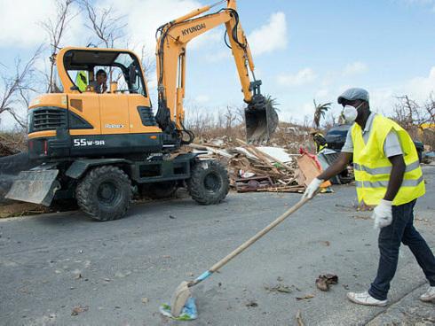 Hurricane-hit St Martin takes first steps to rebuild