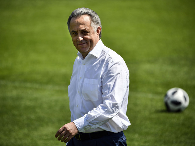 Mutko returns to position as President of Russian Football Union