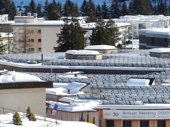 Davos ski resort eerily quiet without economic talkfest this year