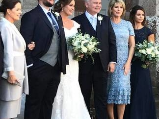 Wedding bells for Eamonn Holmes' 'Number 1 Son' and Belfast bride Jenny