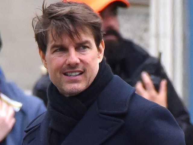 Tom Cruise Films Car Chase Scene For 'Mission Impossible 6'