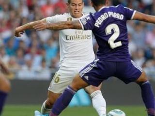 James reaparece, pero el Real Madrid deja escapar victoria