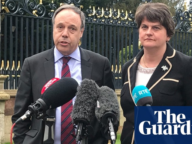DUP says it cannot support Boris Johnson's Brexit deal