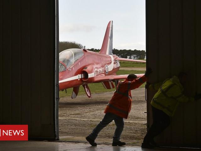 Museum of Flight in East Lothian secures Red Arrows Hawk