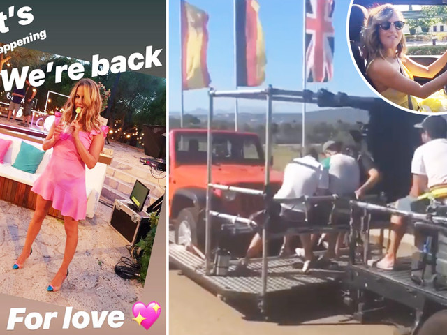 Love Island's Caroline Flack admits she 'can't wait' for show's return as she posts throwback clips ahead of June 3rd start date
