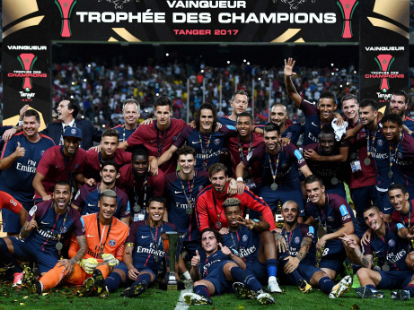 Alves on target as PSG win Champions Trophy