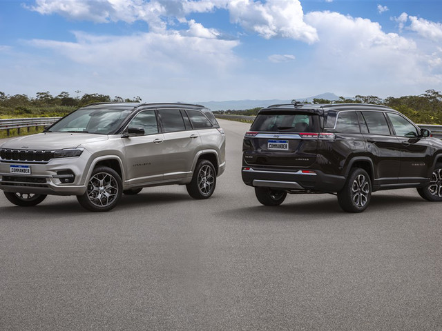 Jeep Commander three-row SUV officially revealed