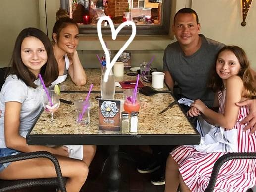 Awwww! Alex Rodriguez Says His Daughters' Role Model Is Jennifer Lopez!