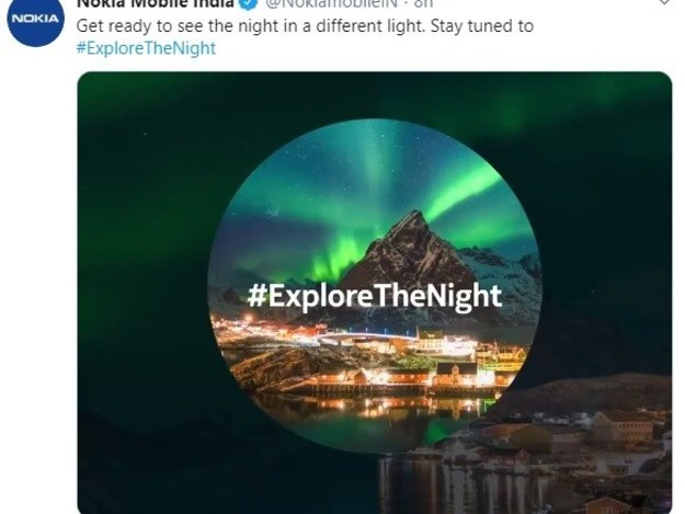 Nokia Mobile teasing with the announcement of Nokia 7.2 for India
