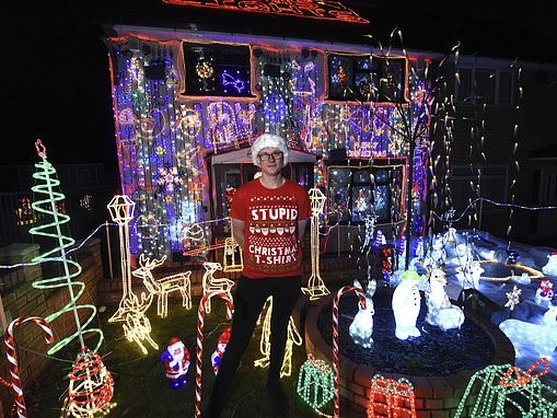 Christmas fanatic splashes out £26,000 on decorations