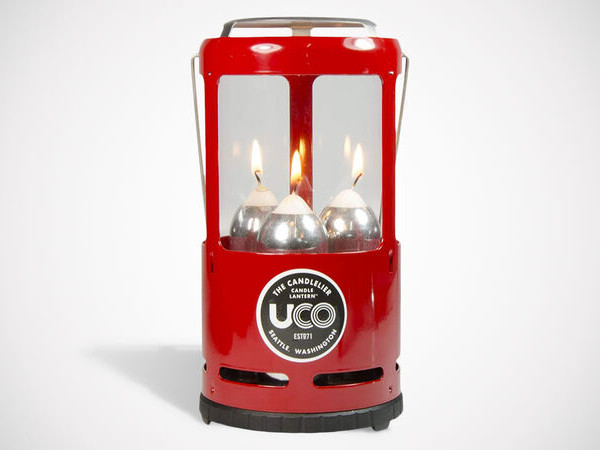 Candle-Powered Lantern Cookers - The UCO Candlelier Deluxe Candle Lantern Offers Light and More (TrendHunter.com)