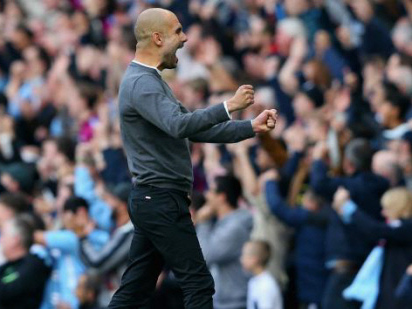 Guardiola hails City's magnificent seven