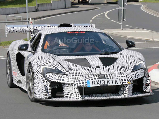 What's McLaren up to With This Mystery 650S-based Prototype?