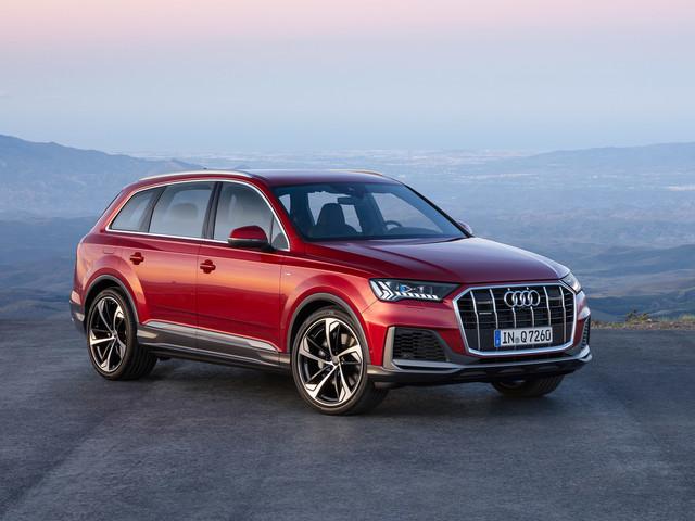 New Audi Q7 2019 facelift revealed - Audi's family SUV updated
