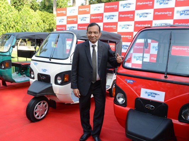 Mahindra e-Alfa Mini Electric Rickshaw Launched In India, Prices Start At INR 1.12 Lakh