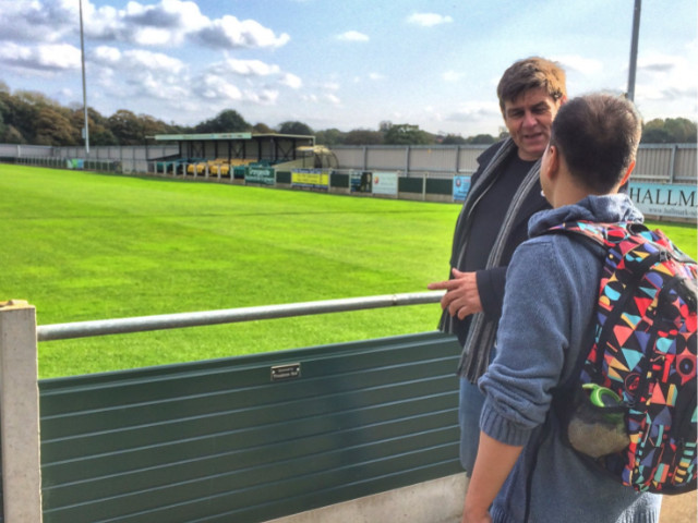 Non-League: Chinese Fan Makes 6,000-Mile Pilgrimage To Runcorn Linnets Because He Fell In Love With Club While Playing Championship Manager 01/02 (Photos)