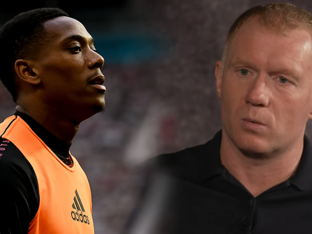 Man United fans react angrily to Paul Scholes comments on Anthony Martial