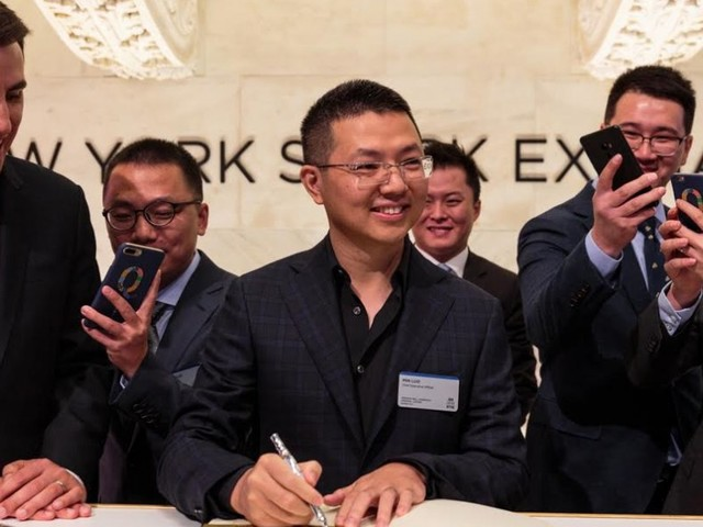 An Alibaba-backed fintech company founded by a 34-year-old just had an amazing IPO